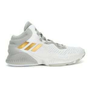 adidas Mens Mad Bounce 2018 B41871 Cloud White